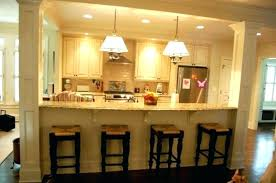 decoration half wall bar ideas kitchen designs affordable in