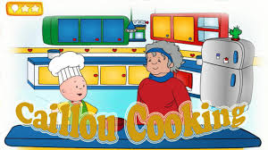 caillou game videos caillou cooking with grandma pbs kids game