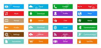 Bouton Web Design Web Design Elements Buttons Icons Templates For Website