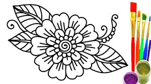 magical garden coloring book flower coloring book pages free magic garden fantastic flowers for s images