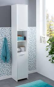 Finebuy Badschrank Fb51822 Modern Holz 30 5 X 190 X 30 Cm Weiß