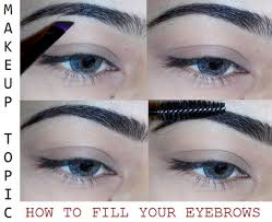 things that i use clean mascara wand brow powder