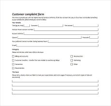 Images Of Consumer Complaint Form Templa On Complaint Form Template ...