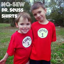 how to create a thing one shirt for dr seuss day