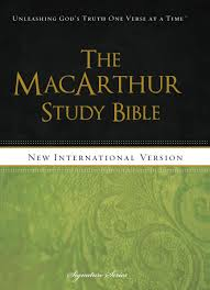 Niv The Macarthur Study Bible Hardcover Holy Bible New