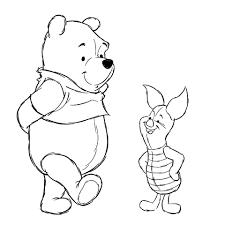 Disegno Di Pooh E Pimpi Migliori Amici Da Colorare Disegni Da