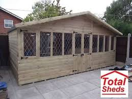 summer house office. Image Is Loading 20x10-ULTIMATE-LOG-CABIN-SUMMER-HOUSE-OFFICE-BAR- Summer House Office