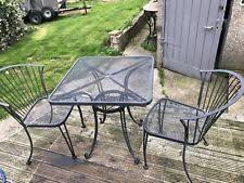 garden furniture wrought iron. wrought iron 2 chairs patio garden table u0026 furniture set