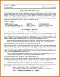 Physician Assistant Sample Resume 6 Medical Cv Examples For Doctors Physician Assistant Resume