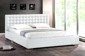 Bed Frame ~ White King Size Platform Bed Frame California King Metal ...