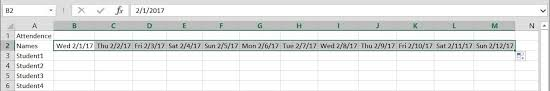 attendance spreadsheet excel how to create a basic attendance sheet in excel microsoft office