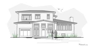 architecture house sketch. Perfect Sketch 92nd Street Remodel U0026 Addition Early Design Sketches  Creating Asymmetry On Architecture House Sketch