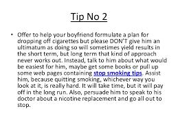 ways to help someone quit smoking this valentine 8