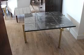 marble coffee table on chairish com