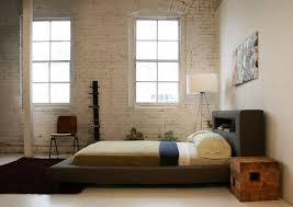 low king headboard.  Low Rustic Modern Low Profile King Bed Frame With Leather Headboard  Storage And Bedroom White Brick Wall Ideas For D