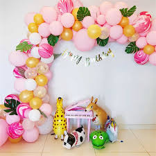 5m Balloon Chain Ballons Accessories Wedding Balloons Birthday Party Decorations Adult Kids Backdrop Diy Decor Baloon Seal Clips