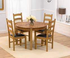 circular oak dining table round dining table for 4 modern dining room ideas
