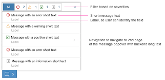 Message Popover | SAP Fiori Design Guidelines