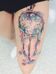 Dream Catcher Tattoo Color 100 Dreamcatcher Tattoo Designs nenuno creative 69