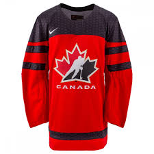 Nike Nhl Jersey Size Chart Team Canada Nike 2018 Iihf World Championship Adult Replica Hockey Jersey