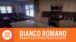 Bianco Romano Granite Kitchen