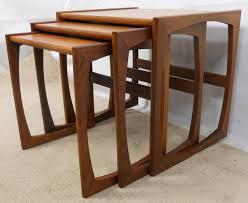 teak retro furniture. SOLD - Teak Retro Nest Of Three 1960\u0027s Coffee Tables Furniture 0