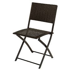 wicker folding chairs. Home Resin Wicker Bristro Folding Chair Chairs