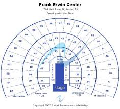 Frank Erwin Center Tickets And Frank Erwin Center Seating
