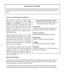 Abstract Essay Format Template Apa Essay Format 6th Edition Template How To Write An