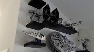 Lego Display Stands Lego 100 Millennium Falcon Vertical YouTube 96