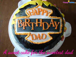 Happy Birthday Dad Cake Birthday Daddy Cake Star