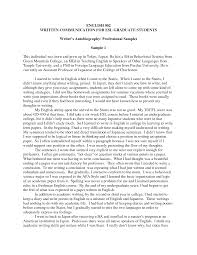 examples of an essay about yourself write autobiography yourself example good resume template