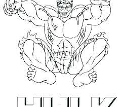 Incredible Hulk Coloring Pictures Hulk Sheets Incredible Hulk