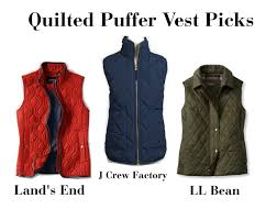 All Hail the Puffer Vest | The Dress Decoded & quilted vests Adamdwight.com