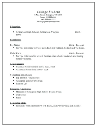 sample athletic resumes high school resume examples for college admission resumes admissions