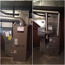 lennox oil furnace. frochak job: oil to gas new furnace, humidifier and return air lennox furnace