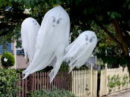 Flying Ghosts Halloween Decorations