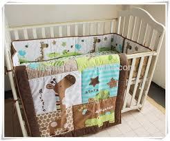 exquisite giraffe baby bedding 22 3pcs newborn european set