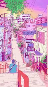 Retro Anime Aesthetic Wallpaper Desktop ...