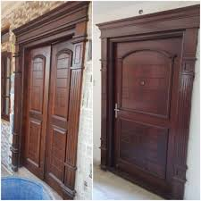 we are manufactur supplier for designer wooden carving door best wood door side arch any model