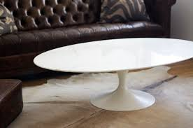 is that an early ion saarinen oval marble coffee table all up in knoll town