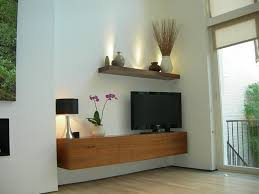Wall Media Cabinet Furniture Modern Wood Floating Media Cabinets For Bedroom Area