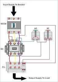 wiring diagram of a single phase fresh dol starter single phase with simple wiring diagrams dol