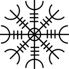 Aegishjalmur Helma Děsu Tradice Pohanství Přírodní Magie