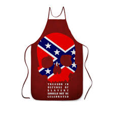 """Фартук с полной запечаткой """"Флаг Конфедерации США ..."""