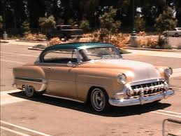 Frank's 53 Bel Air Sport Coupe - YouTube