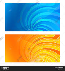 Business Card Set Vector Photo Free Trial Bigstock