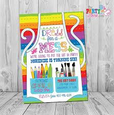 painting party invitation ideas best 25 art party invitations ideas on paint birthday template