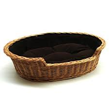 wicker dog bed. Unique Bed Prestige Wicker Dog Bed Basket Medium To