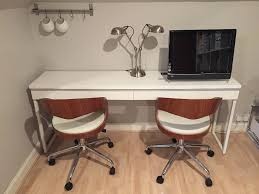 ikea bestÅ burs desk high gloss white